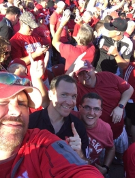 Will at Huskers game